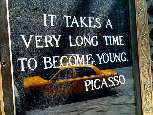 Long Time to Become Young_Picasso
